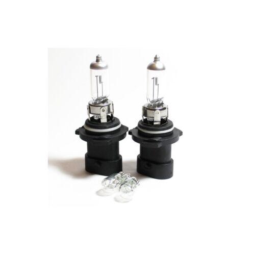 Jeep Grand Cherokee MK3 HB4XS 501 100w Clear Xenon HID Low//Side Light Bulbs Set
