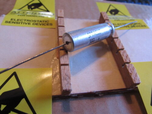 Quantity 1 Piece 16DC Sprague 30D TE1164 Axial Capacitor New Old Stock 200uF