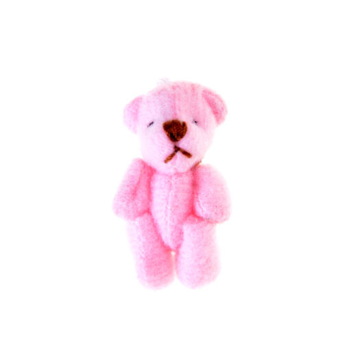 2pcs 3.5CM Joint Bear Plush Stuffed Toy Doll Hair Accessories Plush toy doll LY