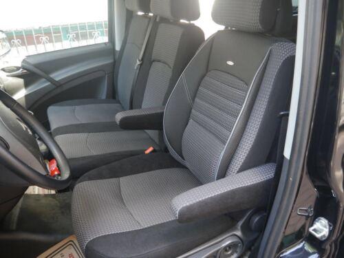 Sitzbezüge Schonbezüge Bezüge Mercedes Vito W447 Fahrersitz und Bank