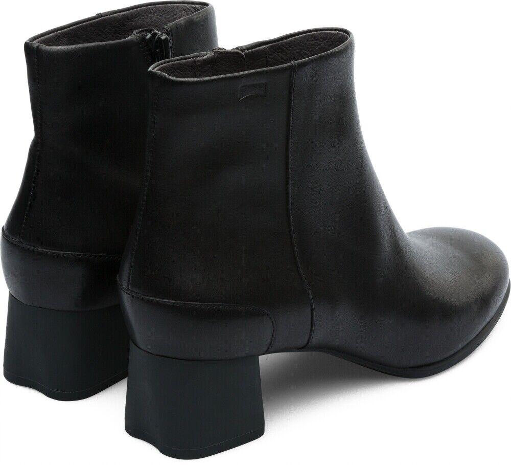 Camper Women's Women's Women's Katie Heeled Ankle Boots - Black UK Size 6 7 8 168286