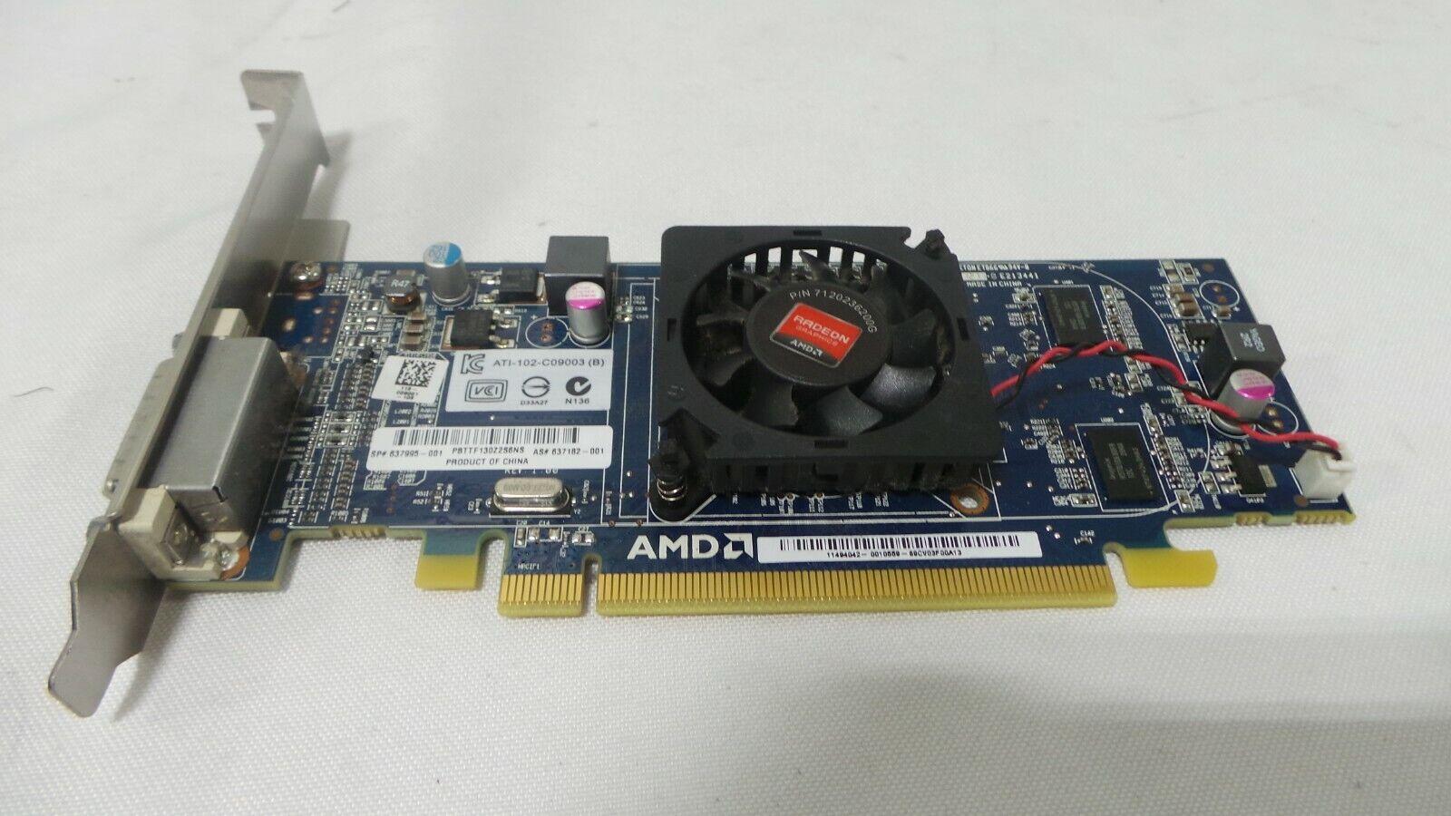 Dell AMD Radeon HD 6350 PCI-E 512 MB DMS59 Low Profile -Full Bracket-