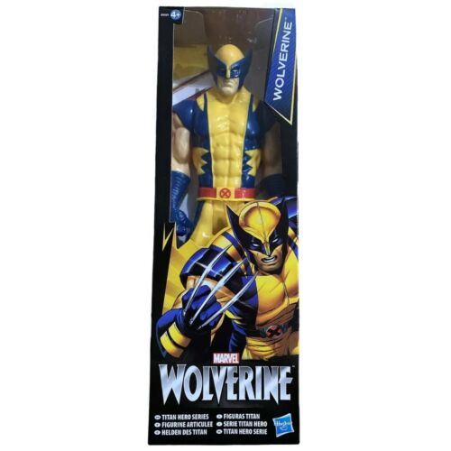 "Marvel Wolverine 12/"" Action Figure Titan Hero Hasbro Brand New in Box"