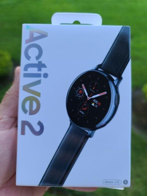 NEW - Samsung Galaxy Watch Active 2  44mm LTE GSM Unlocked - UNOPENED
