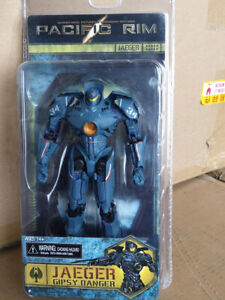 """NECA Pacific Rim Movie Gipsy Danger Jaeger 7/"""" Robot Action Figure Collection New"""