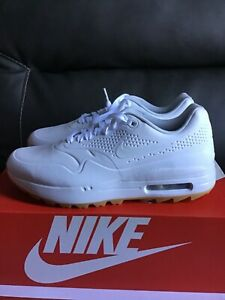Nike Air Max 1 Spikeless White Gum Golf Shoes Size 9 In Us Women Aq0865 100 Ebay