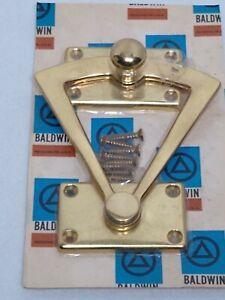 Baldwin-Brass-solid-brass-Dutch-Door-Quadrant-0340-split-door-lock-MCM-VTG