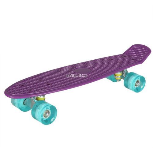 Skateboard Kids completo all/'aperto divertente Mini  luce lampeggiante55x15.5cm