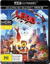 The Lego Movie - 4K Blu-Ray + UHD + UV : NEW 4K Ultra HD