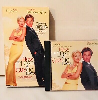 How To Lose A Guy In 10 Days 2003 Vhs Soundtrack Cd Matthew Mcconaughey Ebay