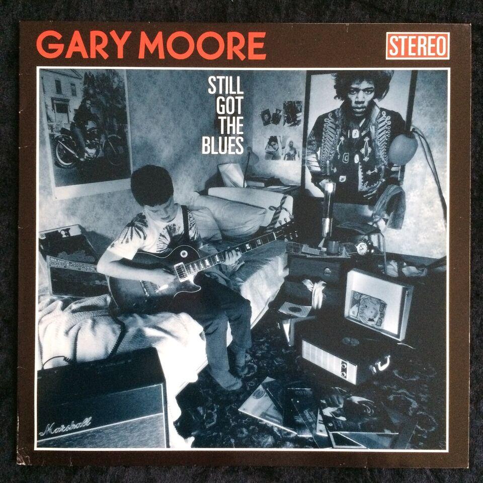 LP, Gary Moore, Still Got The Blues