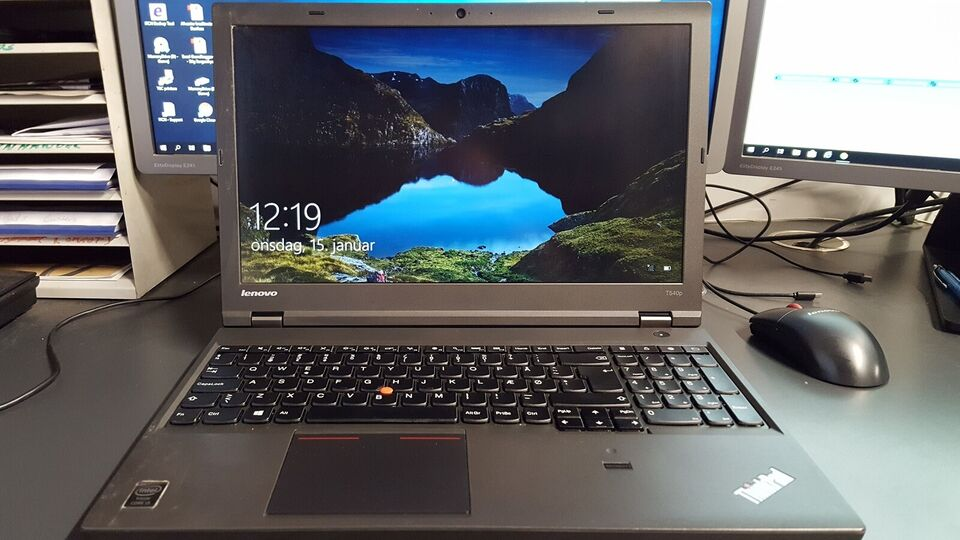 Lenovo Thinkpad T540P, 2.4 GHz, 8 GB ram