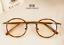 Vintage-Literary-TR90-Metal-Retro-eyeglass-frame-Round-Clear-Glasses-Women-Men thumbnail 17