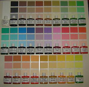 Magic Dye Wall Paint Colourant Pigment Paint Colour Interior Exterior Ebay
