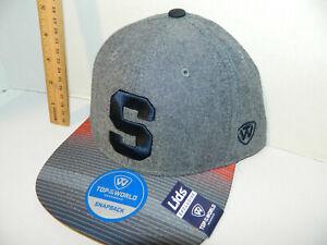 d896c0d4e00dd Syracuse Orange Su Hat tarnish Grey Adj. Snapback Cap New Era Lids ...