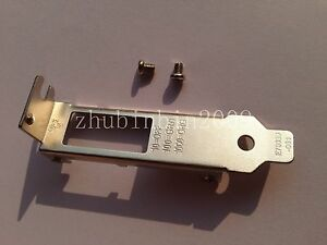 Low Profile Bracket for Intel I340-T2 I350-T2 HP NC361T DELL 7MJH5 IBM 49Y4230