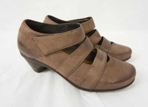 Jane brun en talons Chaussures cuir Culture Naot Mary marron en compensés à cuir GMVLSzqUp