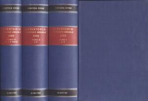 Giustizia-civile-Repertorio-generale-annuale-2002-Tomo-I-II-III-di-legisla