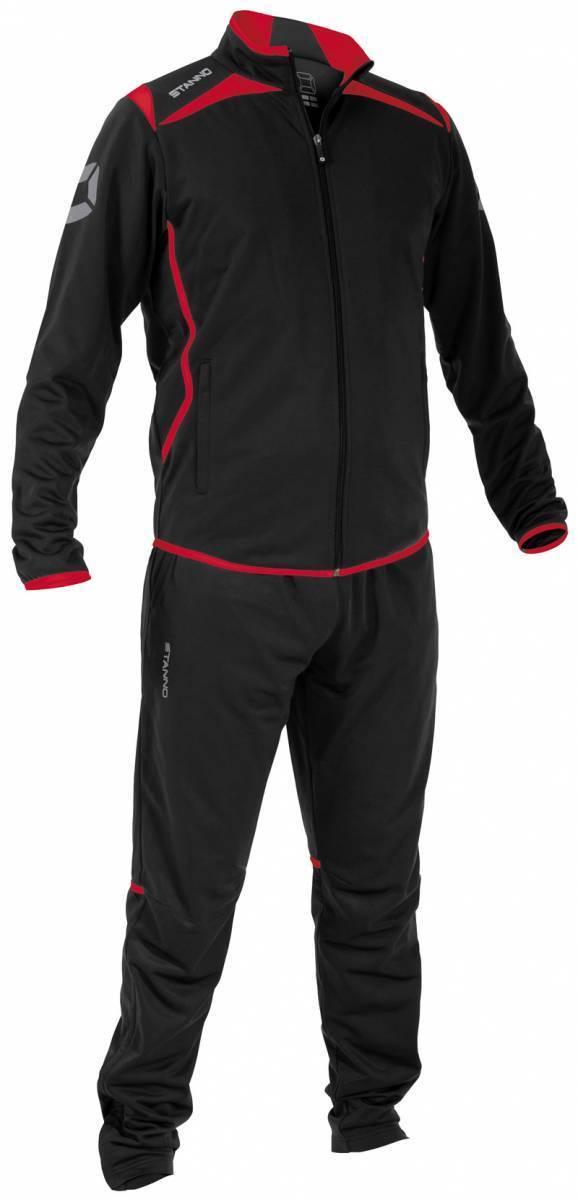 Stanno Stanno Stanno Forza Polyester Anzug Trainingsanzug schwarz-rot NEU 43570  | Kaufen Sie online  4ce02f