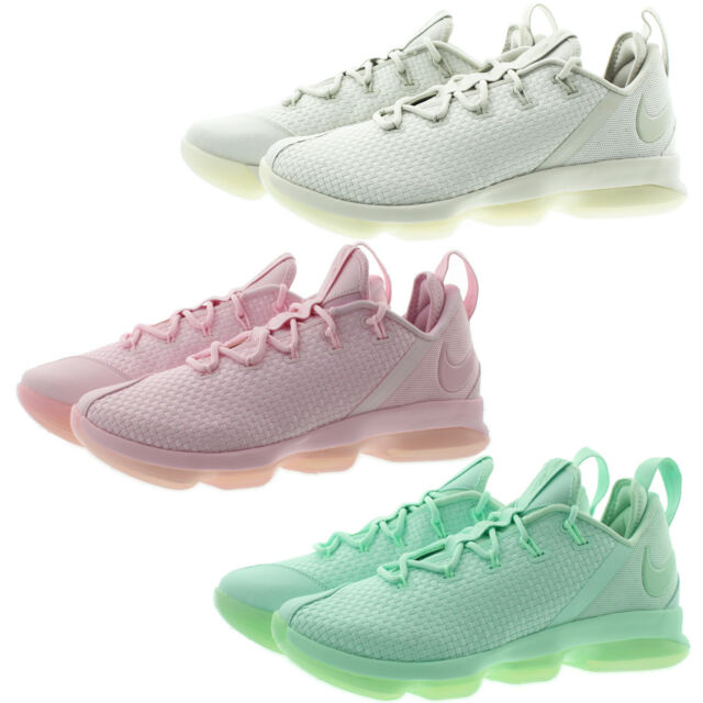 huge selection of 16335 5ccac Nike 878636 Mens Lebron 14 Low Top Woven Upper Basketball Shoes Sneakers