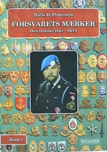 New book of Danish Army military badges containing 2400 image  208 pages colour.