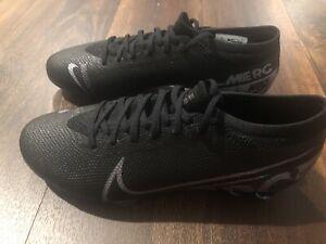 Nouveau Nike mercurial vapor 13 Pro Fg Homme Taille 5 Football Crampons Noir Gris