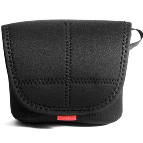 Fujifilm X100 X100s X100f X100t Blando Estuche Cubierta acolchada de neopreno cámara del bolso negro