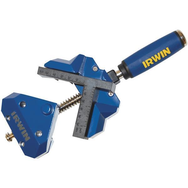(5)-Irwin 90 Degree 3  Jaw Capacity Angle Clamp 226410