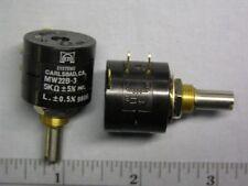 2 Eti Mw22b 3 5k 5 1w 3 Turn Wirewound Potentiometers
