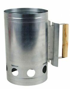 Grillkohleanzunder-Galvanised-BBQ-Chimney-Starter-Grillanzunderhilfe