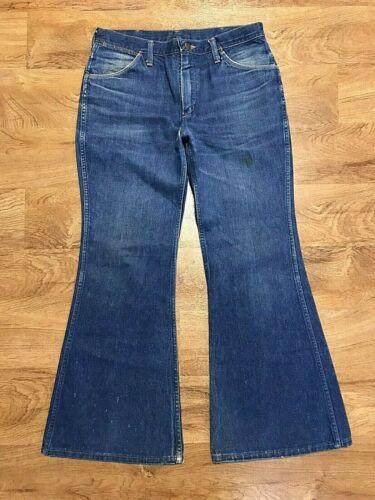Vintage 1970s Wrangler 902 Jeans Bell Bottoms Flar