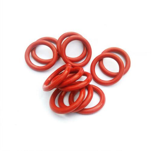 Section 3.5mm sélectionnez od de 10mm à 50mm VMQ silicone o-ring joints
