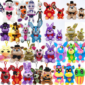 Details about Five Nights at Freddy's FNAF Horror Game Plush Doll Kids  Plushie Toy 4 7