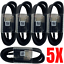 miniature 1 - 5Pack USB-C Type C Charger Charging Cable Cord 4Ft Lot For Samsung S10 S9 S8 LG