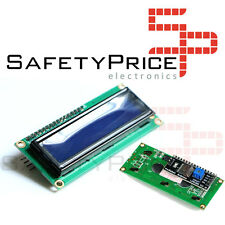Display LCD 1602 retroiluminado AZUL con módulo IIC/I2C compatible arduino