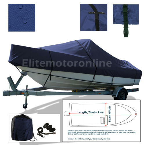 Wellcraft 233 Eclipse Cuddy Cabin I//O Trailerable Boat Cover Navy
