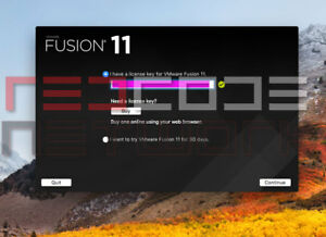 Details about VMware Fusion 11 Pro Version for Mac [License key] Lifetime