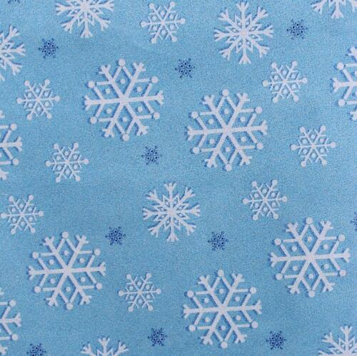 Frozen Snowfall Flake Michael Miller 100/% Cotton Fabric Christmas Xmas Glitter