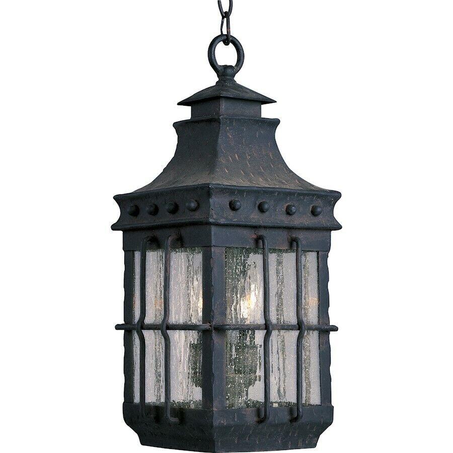 Maxim Nantucket de 3 Luz Linterna Colgante al aire libre país Forge - 30088 CDCF