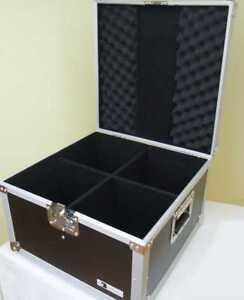 Transport-Case-fuer-4x-PAR-56-Spot-kurz-Scheinwerfer-Flight-Case-Box-ROADINGER