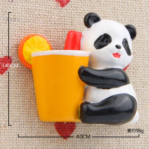 Figuren Panda Fruit Kühlschrankmagnet Sammeln Anime Spielzeug Geschenk
