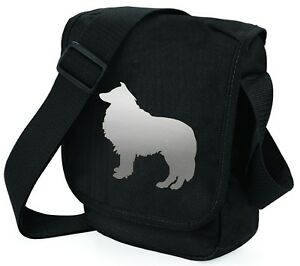 Rough-Collie-Dog-Bag-Dog-Walkers-Bag-Shoulder-Bags-many-colours-Mothers-Day-Gift