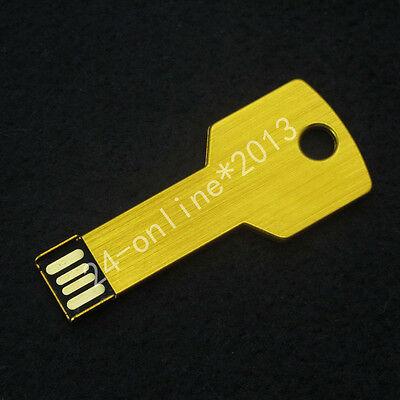 Metal Key 2GB/4GB/8GB/16GB USB 2.0 Flash Drive Memory Stick Pen true Capacity