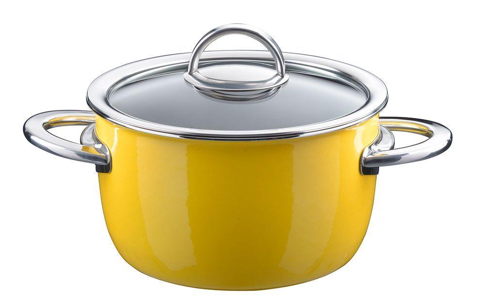 BIELMEIER   KOCHSTAR Fleischkasserolle   Keramico     Ø 18 cm   Neo gelb eb7a4a