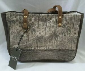 Myra Bag Bestowal Small Crossbody Handbag Leather Canvas Hairon Palm Trees Purse 819699024613 Ebay Upcycled canvas handbags myra handbags offers a nature friendly canvas & leather handbag. details about myra bag bestowal small crossbody handbag leather canvas hairon palm trees purse