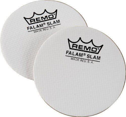 """Remo KS-0004-PH Kevlar Bass Drum Falam Slam Pad 4/"""" Twin Pack"""