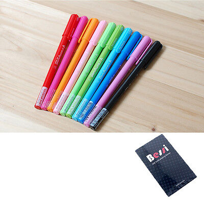 ICE CREAM Jell Ball Point Pens 10 color set ball point pen free gift free ship