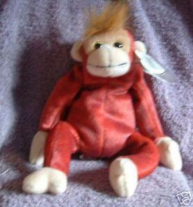 3096ac31e74 Image is loading Ty-Beanie-Babies-Schweetheart-the-orangutan-Retired