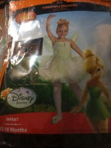 12-18 Months Tinkerbelle Infant//Toddler Costumes