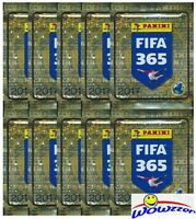 (10) 2017 Panini Fifa 365 Stickers Factory Sealed Packs-50 Stickers